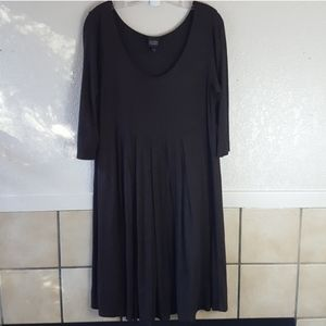 Eileen Fisher Soft stretchy jersey knit dress EUC